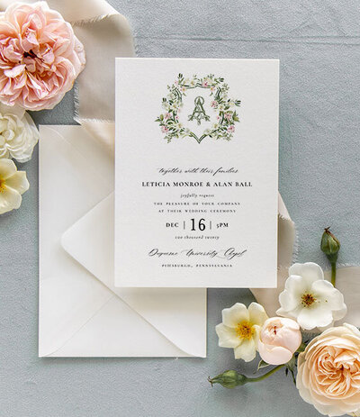Lush Greenery Wedding Invitations