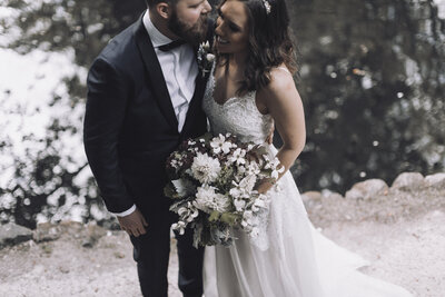 Natural weddings at The Farm Yarra Valley | Sassafras Flower Design