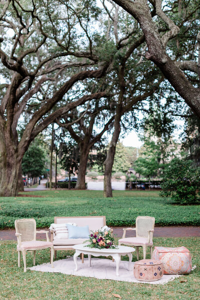 Intimate elopement in a Savannah Square - Apt. B Photography
