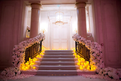 Intimate Wedding at the Four Season Hotel in Paris France - Alice Wilkes Design