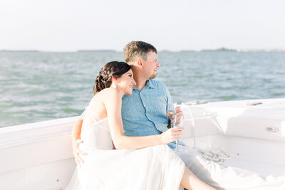 Bride-Groom-sailboat-wedding
