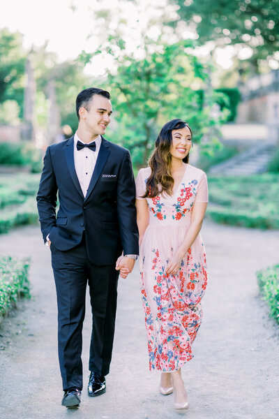The Vizcaya Museum Miami Engagement Session  004