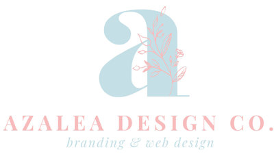 Azalea Design Co.'s Primary Logo Design