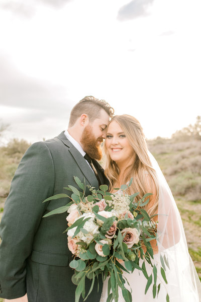Sunset Wedding at The Paseo in Arizona
