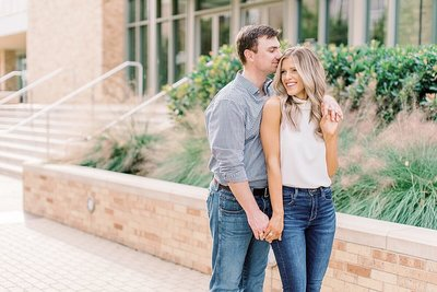 Engagement Session at Texas A&M by Houston Wedding Photographer Alicia Yarrish Photography_0021