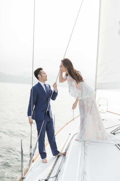 Eli & Perry - sailboat engagement - Little Stories -9852