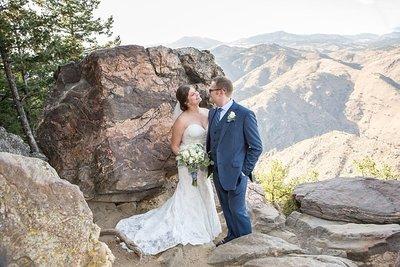 Golden CO, wedding at lookout mountain