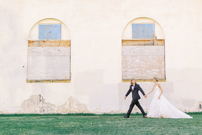 Old world wedding featured on Ruffled Blog