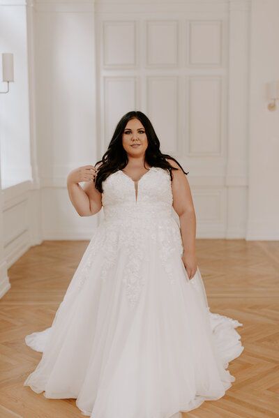 nashville plus size bridal