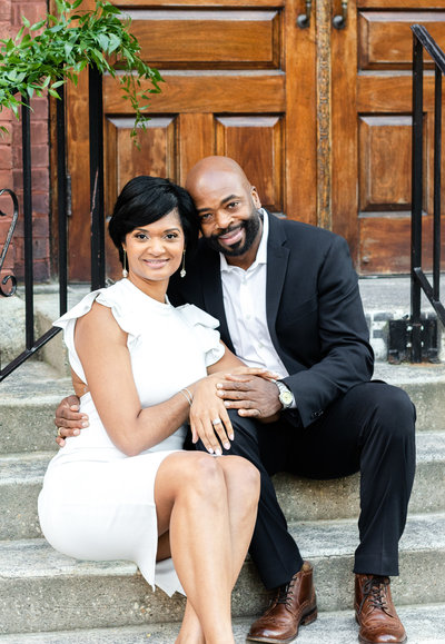 Uptown Charlotte Engagement_Mane and Grace Photography_NC Wedding Photography