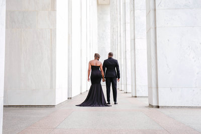 engaged couple, marriage, married in washington dc, dc wedding, Maryland wedding,