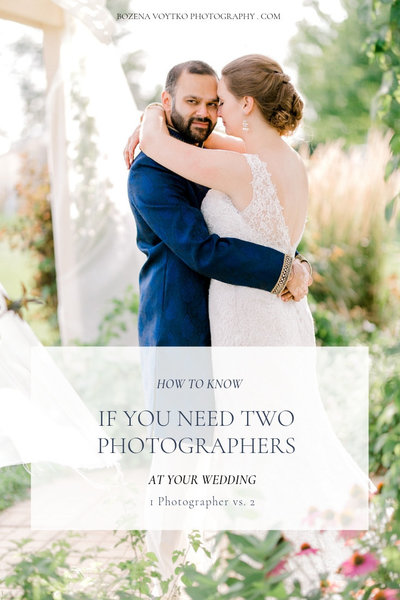 HOW TO KNOW IF YOU NEED TWO PHOTOGRAPHERS AT YOUR WEDDING