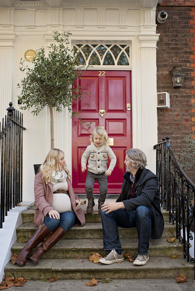 Family photo shoot in Richmond upon Thames