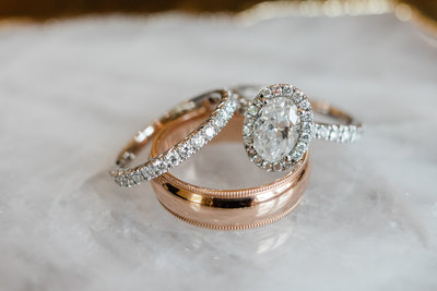 Savannah wedding rings