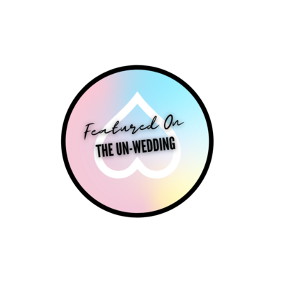 THE UN-WEDDING FEATURE BADGE
