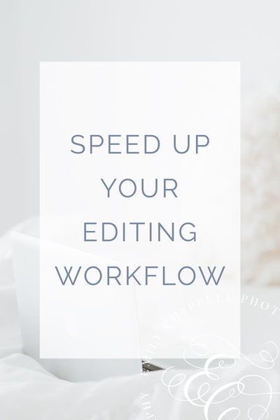 Speed Up Editing