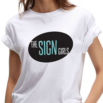 The Sign Girls T-shirt by The Brand Advisory