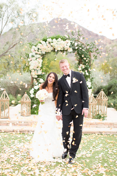 Blush El Chorro Wedding Paradise Valley, Arizona | Amy & Jordan Photography