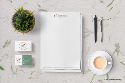 Benwerren Stationery by The Brand Advisory