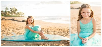 Magical Maui kids  portraits