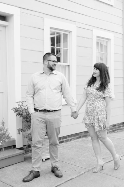 Caitlin and Patrick's Fells Point Engagement Session