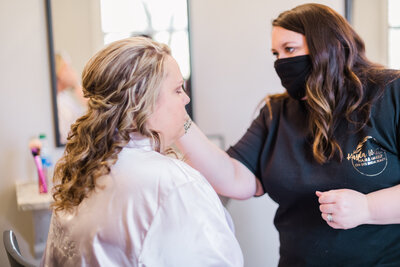 On Location Hair and Makeup for Brides and Weddings in Athens Georgia