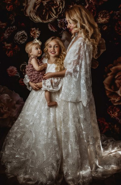 Mother and Daughters-Boho Couture-Dallas TX
