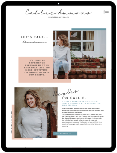 Callie-Ammons-Life-Coach-Showit-Templates