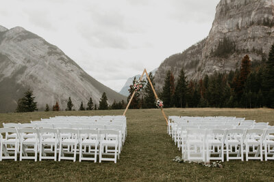 Tunnel Mountain Meadow Banff Elopement124