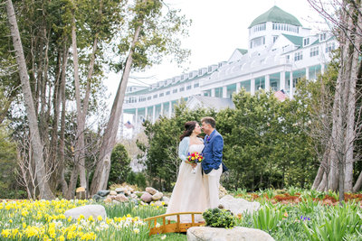 Wedding Picture in Grand Hotel Secret Garden