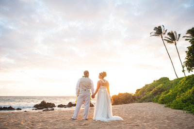 Maui beach Wedding Venue - Poolenalena Beach Hawaii