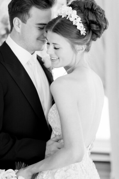 Timeless and Elegant image of bride and groom first dance at Eastington Park Venue