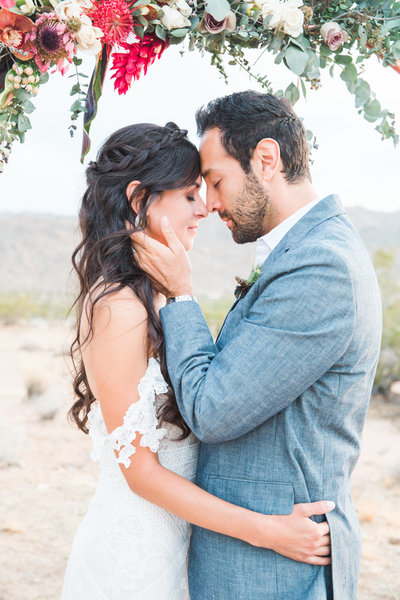 Wedding Vow Renewal in Joshua Tree California