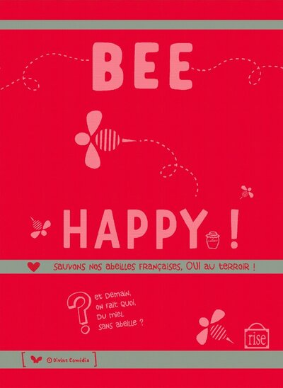 Bee Happy Torchon