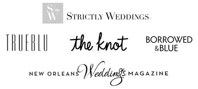 Theresa Elizabeth Photography Featured In TrueBlu, The Knot, Borrowed and Blue, New Orleans Weddings Magazine