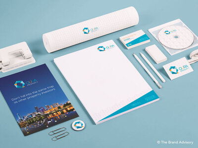 Qura Property Branding by The Brand Advisory
