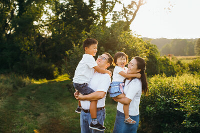 Belmont Family Photographer happy family-1