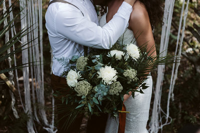 Boho Elopement Florals // JasTreadway Photography