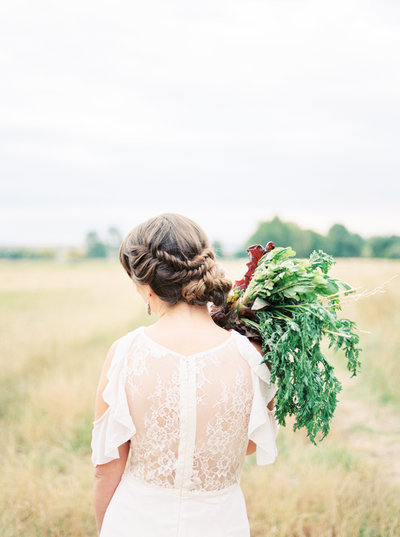 organic farm elopement