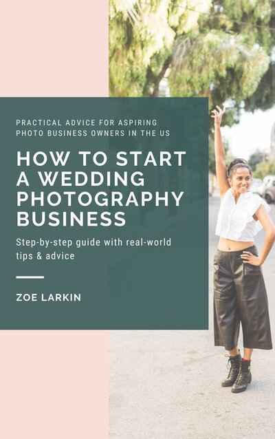cover of ebook named 'How to start a wedding photography business'
