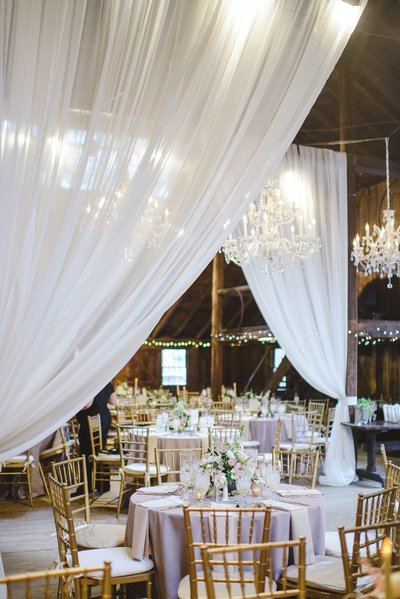 Glamorous wedding at The Webb Barn in Wethersfield