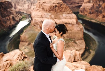 HorseShoe bend Elopement Wedding Photographers