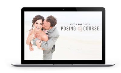 Amy & Jordan's Posing Course | Online photography education for portrait and wedding photographers