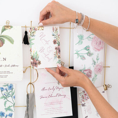Getting started with planning your wedding stationery using mood boards and inspiration