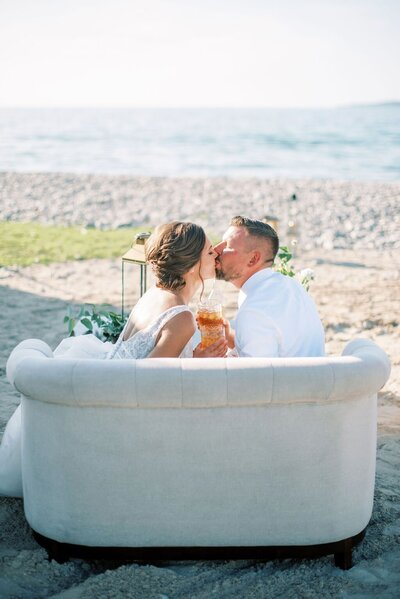 Bay Harbor Beach Wedding Seating-min