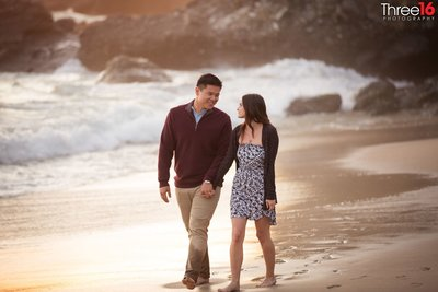 1000 Steps Beach Engagment
