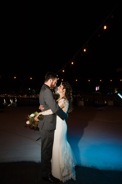 Current Up Sky bar wedding picture JW Photography Studios