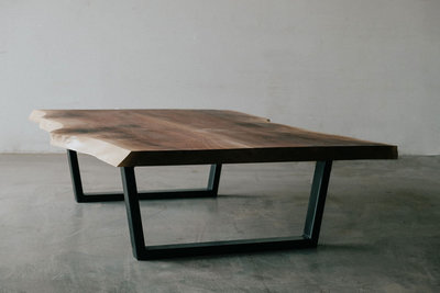 walnut coffee table  by Sam Rouse Furniture