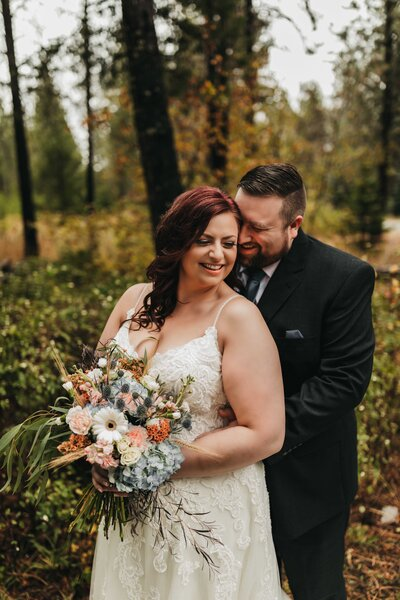 Fall Elopement in Twin Lakes Idaho, North Idaho Elopement Photographer - Clara Jay Photo