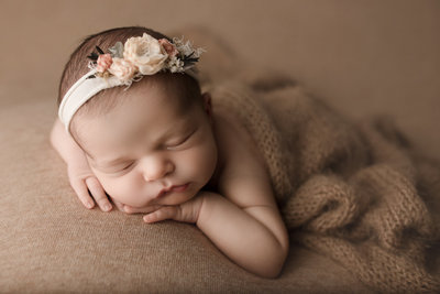Studio portraits of newborns for Lafayette Indiana residents